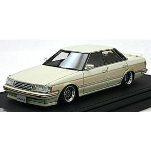 トヨタ マークII グランデ (GX71) ホワイト/ゴールド (1/43 イグニションモデルIG0676) v-toys