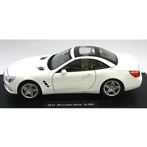 メルセデスベンツ SL500 ハードトップ ホワイト (1/18 ウエリー WE18046HW) v-toys