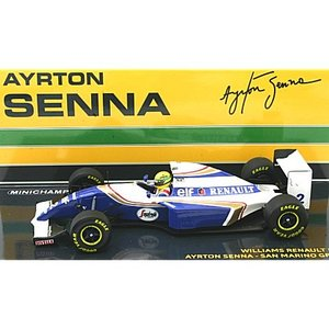 ウィリアムズ ルノー FW16 アイルトン・セナ サンマリノGP 1994 (1/43 ミニチャンプス547940302) v-toys