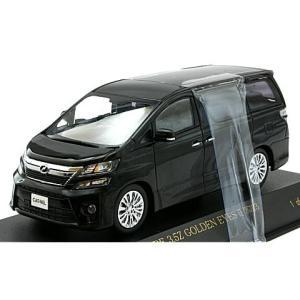 トヨタ ヴェルファイア 3.5Z GOLDEN EYES 2013 ブラック (1/43 カーネルCN431303) v-toys