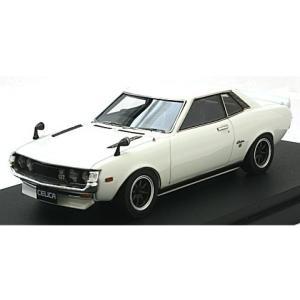 トヨタ セリカ (TA22) スポーツホイール ホワイト (1/43 マーク43 PM4351SW)|v-toys