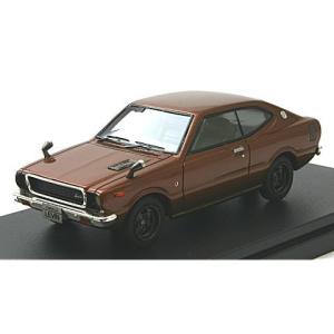 トヨタ カローラ ハードトップ レビン 1600 1974 スプレンダーブラウンM (1/43 ハイストーリーHS173BR)|v-toys