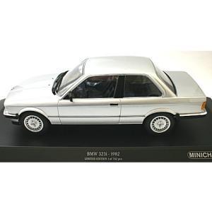 BMW 323I 1982 シルバー (1/18 ミニチャン...