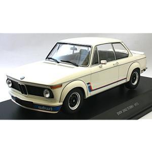 BMW 2002 ターボ 1973 ホワイト (1/18 ミ...