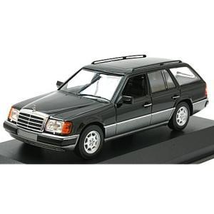 メルセデスベンツ 300 TE (S124) 1990 ブラック (1/43 ミニチャンプス940037010) v-toys