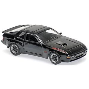 ポルシェ 924 GT 1981 ブラック (1/43 ミニチャンプス940066124) v-toys