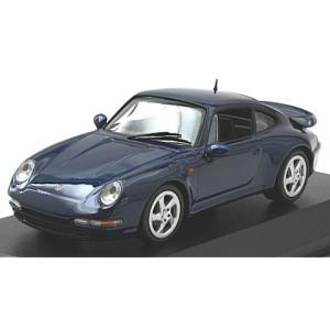 ポルシェ 911 ターボ S (993) 1997 ブルーM (1/43 ミニチャンプス940069201) v-toys