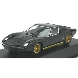 ランボルギーニ ミウラ 1966 ブラック (1/43 ミニチャンプス940103000)|v-toys