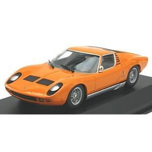 ランボルギーニ ミウラ 1966 オレンジ (1/43 ミニチャンプス940103001)|v-toys