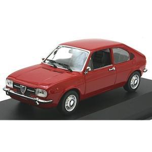 アルファロメオ アルファスッド 1972 レッド (1/43 ミニチャンプス940120100)|v-toys