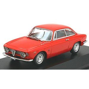 アルファロメオ ジュリエッタ スプリント GTA 1965 レッド (1/43 ミニチャンプス940120440)|v-toys