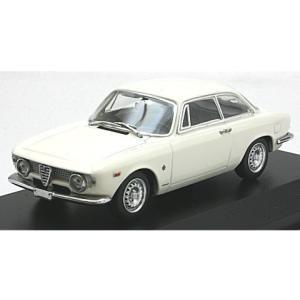 アルファロメオ ジュリエッタ スプリント GTA 1965 ホワイト (1/43 ミニチャンプス940120441)|v-toys