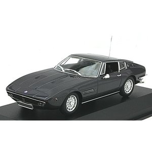 マセラティ ギブリ クーペ 1969 ブラウンM (1/43 ミニチャンプス940123320)|v-toys