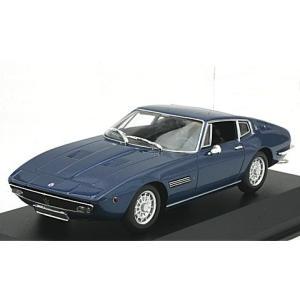 マセラティ ギブリ クーペ 1969 ブルーM (1/43 ミニチャンプス940123321)|v-toys
