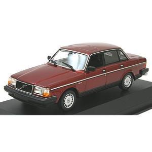 ボルボ 240 GL 1986 ダークレッドM (1/43 ミニチャンプス940171401)|v-toys