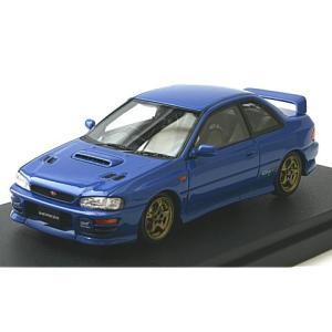 スバル インプレッサ WRX タイプR Sti Ver.1997(GC8) ソニックブルーマイカ (1/43 マーク43 PM4357BL)|v-toys