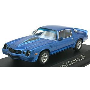 シボレー カマロ Z28 1980 Mブルー&ストライプ (1/43 ノレブ900016)|v-toys