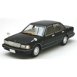 ニッサン セドリック セダン V30 ターボブロアム VIP 黒 1987 (1/43 トミーテックLV-N43-18a) v-toys