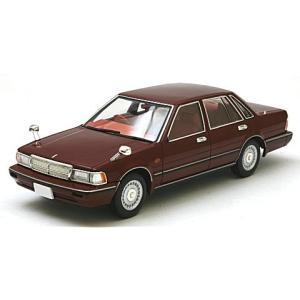 ニッサン グロリア セダン V30 ターボブロアム VIP ダークレッド 1987 (1/43 トミーテックLV-N43-19a) v-toys