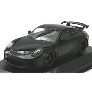 ポルシェ 911 GT3 2017 ブラックM (1/43 ミニチャンプス410066021) v-toys