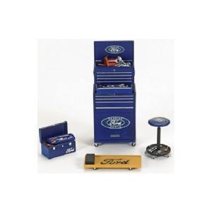 Genuine Ford Parts ジオラマパーツセット (1/18 ジェニュインフォードパーツFPM583)|v-toys