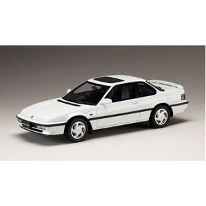 ホンダ プレリュード Si (BA5) 1989 フロストホワイト (1/18 ホビージャパンHJ1804W)|v-toys