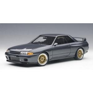 ニッサン スカイライン GT-R (R32) 「湾岸ミッドナイト」 零奈のGT-R (1/18 オートアート77411)|v-toys
