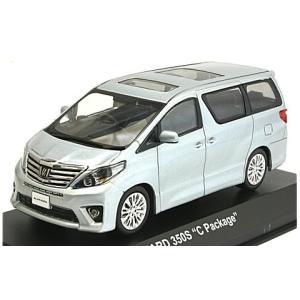トヨタ アルファード 350S Cパッケージ グレーM (1/43 京商KS03646GM)|v-toys