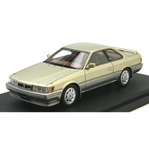 ニッサン レパード アルティマ (F31) 1986 カスタマイズドVer. スポーツフロントスポイラー ゴールドMツートン (1/43 マーク43 PM4338CWS)|v-toys