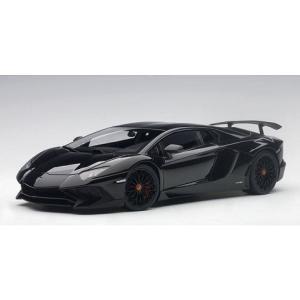 ランボルギーニ アヴェンタドール LP750-4 SV ブラック (1/18 オートアート74556)|v-toys