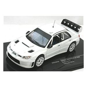 スバル インプレッサ S12B 2008 ホワイト (1/43 イクソMDCS019)|v-toys