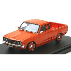 ニッサン ダットサン トラック カスタム DX・L ローダウン 1979 オレンジ (1/43 ハイストーリーHS188OR) v-toys