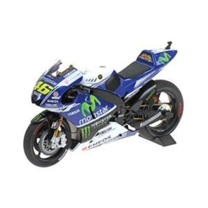 ヤマハ YTZ-M1 「YAMAHA FACTORY RACING」 バレンティーノ・ロッシ モトGP  2014 (1/12 ミニチャンプス122143046)|v-toys