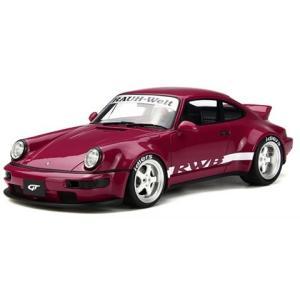 RWB 964 ダックテール ピンク (1/18 GTスピリットGTS016KJ)|v-toys