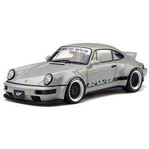 RWB 964 ダックテール グレー (1/18 GTスピリット GTS187) v-toys