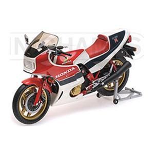 ホンダ CB1100R 1982 (RC II) ホワイト/ターコイズ (1/12 ミニチャンプス122161701) v-toys