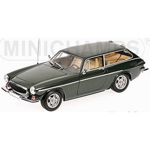 ボルボ P1800 ES 1971 グリーン (1/18 ミニチャンプス100171614)|v-toys
