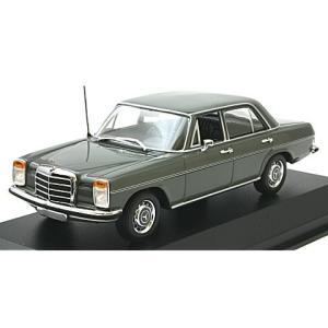 メルセデスベンツ 200 (W114/115) 1967 ARABERGRAU グレー (1/43 ミニチャンプス940034002)|v-toys