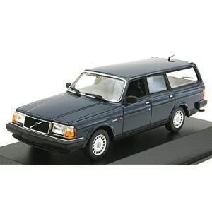 ボルボ 240 GL ブレーク 1986 ダークブルー (1/43 ミニチャンプス940171412)|v-toys