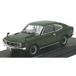 マツダ サバンナ RX-3 クーペ 1972 ダークグリーン (1/43 ノレブ800614) v-toys