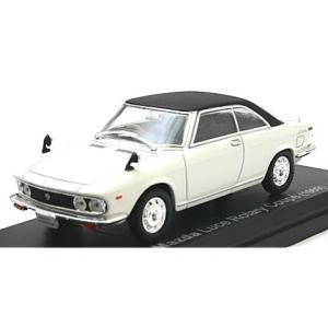マツダ ルーチェ ロータリークーペ (M13P) 1969 ホワイト/ブラック (1/43 ノレブ800643)|v-toys