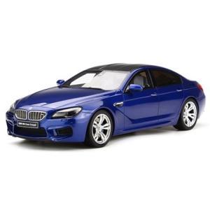 BMW M6 グランクーペ ブルー (1/18 GTスピリッ...
