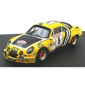 アルピーヌ ルノー A110 1975 ツール・ド・コルス G. Larrousse/C. Delferier (1/43 トロフュー839)|v-toys