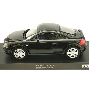 アウディ TT クーペ 1998 ブラック (1/18 ミニチャンプス155017021)|v-toys