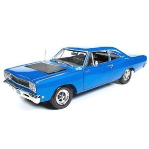 1968 プリムス ロードランナー 50th Anniversary エレクトリックブルー (1/18 アメリカンマッスルAMM1125)|v-toys
