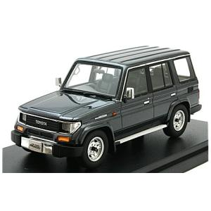 トヨタ ランドクルーザー 70 プラド SXワイド 1993 ダ−クブルーイッシュグレーM (1/43 ハイストーリーHS163GY)|v-toys