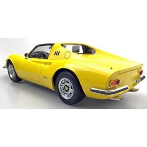 DINO 246 GTS 1972 イエロー (1/12 トップマーケスTOP12-02D)|v-toys