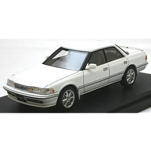 トヨタ MK II ハードトップ GT ツインターボ 1990 スーパーホワイトIV (1/43 マーク43 PM4386W) v-toys
