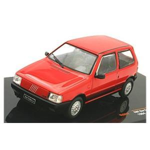 フィアット ウーノ ターボ IE 1984 レッド (1/43 イクソCLC277)|v-toys