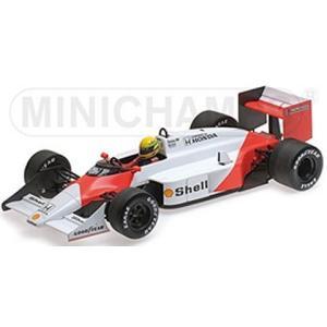 マクラーレン TAG MP4/3 セナ テストカー 1987 (1/18 ミニチャンプス547871899) v-toys